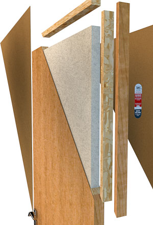 Direct Doors and hardware provide commercial fire rated wood doors standard 20 minute rating from the factory on any particleboard core or structural ... & Fire Rated Wood Doors - Direct Doors And Hardware pezcame.com