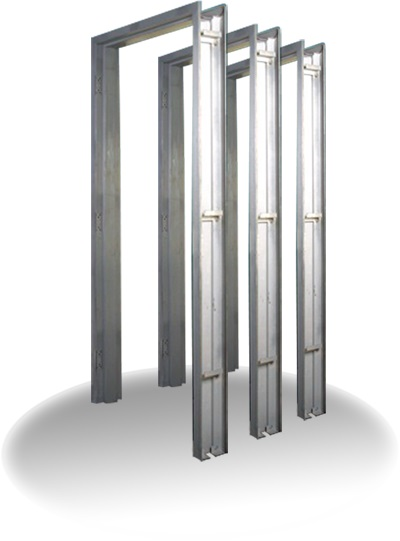 Metal Entry Doors And Frames : Steel door frames metal hollow doors